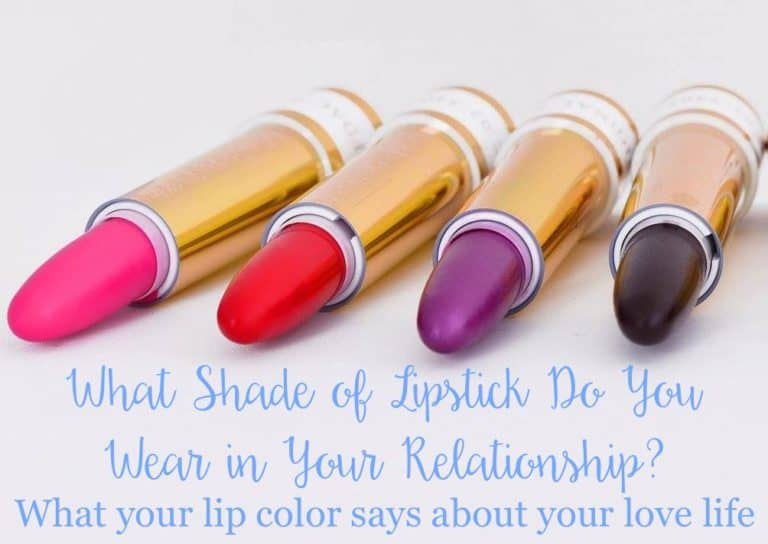 What Shade of Lipstick Do You Wear in Your Relationship?