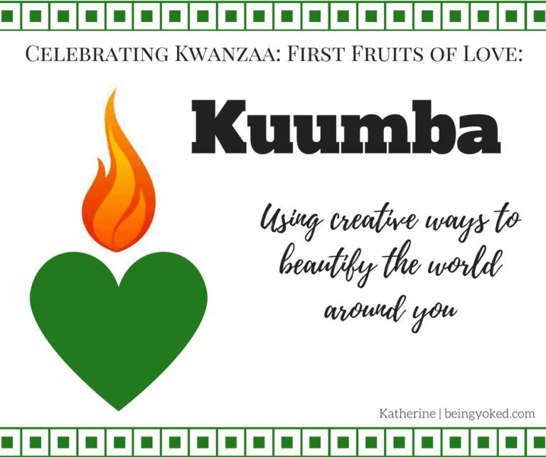 Kuumba: Using Creativity to Find the Beauty Around You
