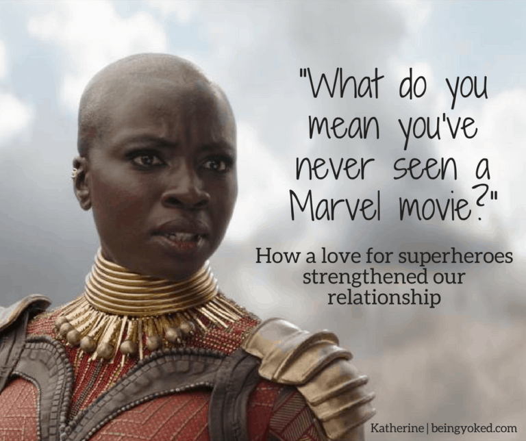 How A Love For Superheroes Strengthened Our Relationship