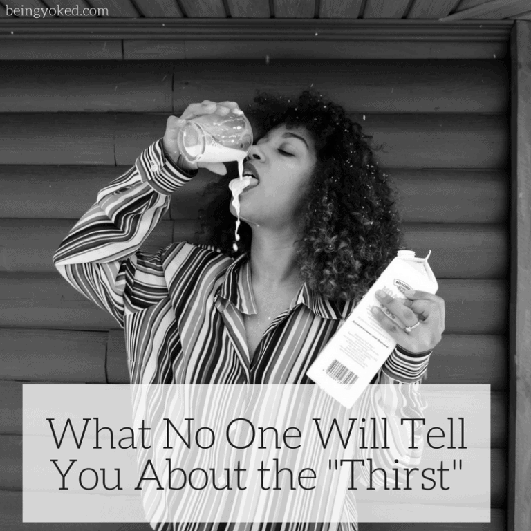 "What No One Will Tell You About the ""Thirst"""
