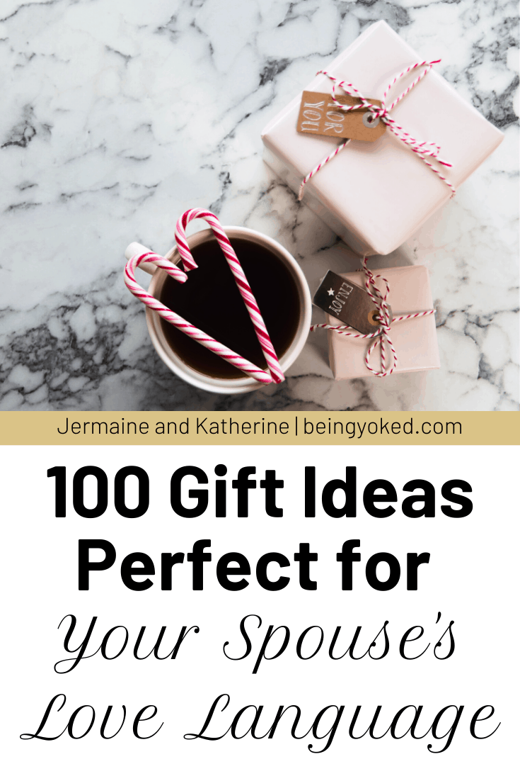 100 Gift Ideas Perfect for Your Spouse's Love Language