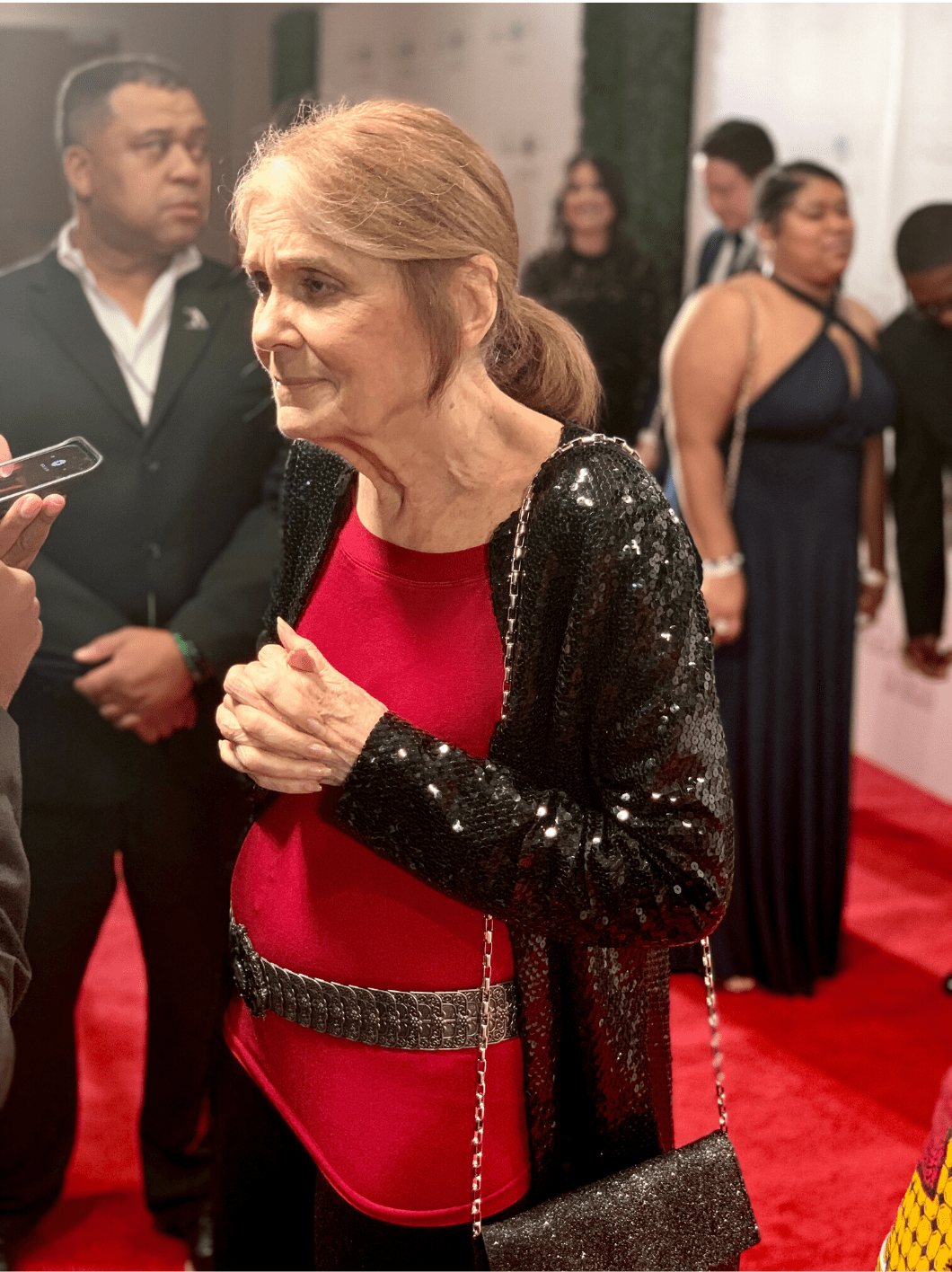 Gloria Steinem at the 2019 Freedom Awards