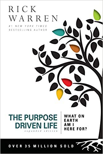 purpose driven life book to find purpose