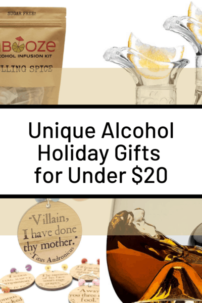Unique Alcohol Gifts for Under $20